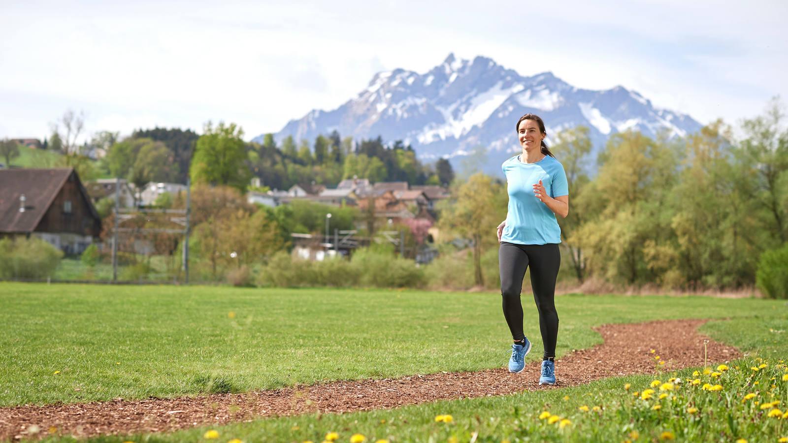 Finnenbahnen in der Schweiz: 5 Outdoor Übungen