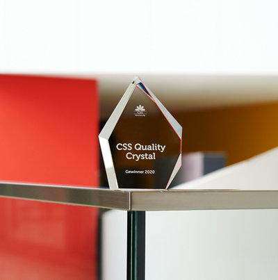 CSS Quality Crystal Award 2020