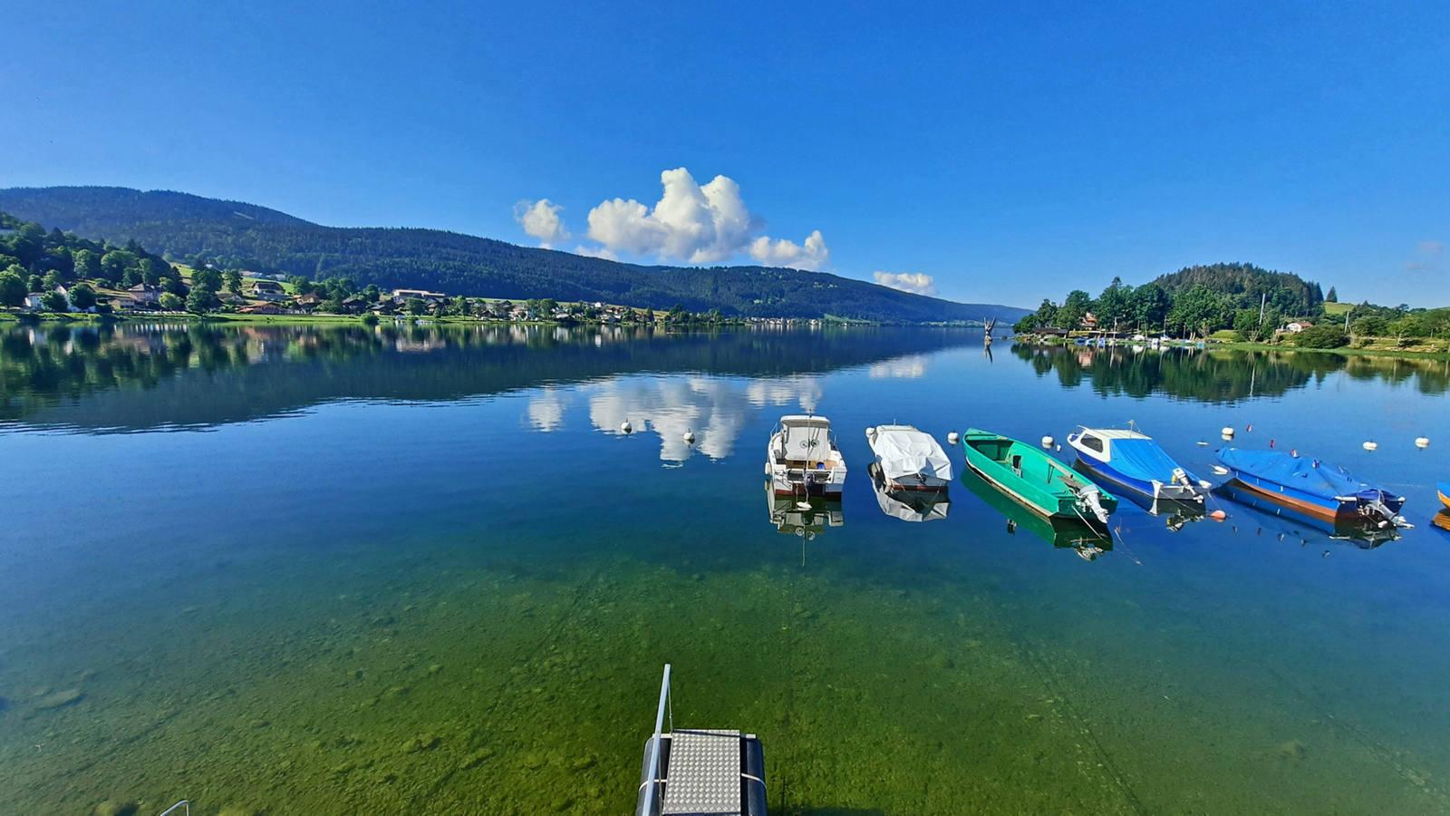 Velotour zum Lac de Joux