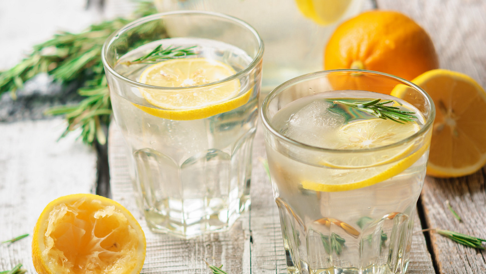 Zitrone am Morgen wirkt Wunder